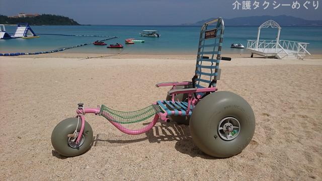 砂浜ラクラク、海にもそのまま入れる!チェアボートで沖縄の海を満喫しよう!