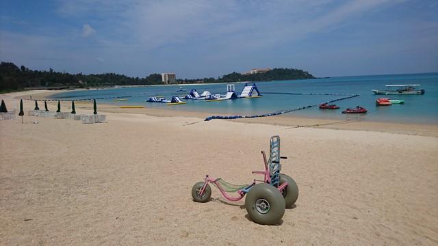 チェアボートに乗って沖縄の海を泳いじゃおう!
