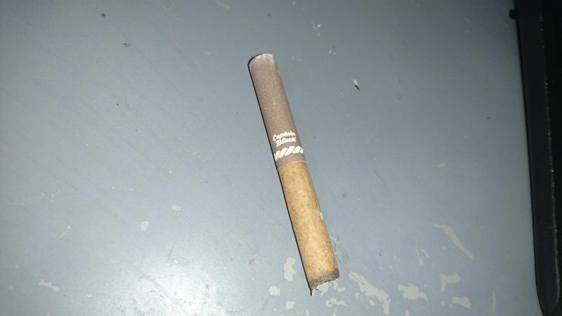 ニコチン強そう。吸ったけどうまいとは感じないね。