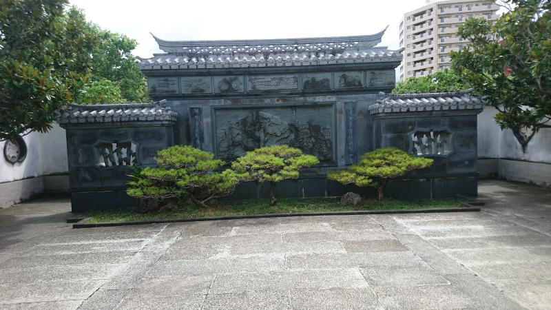 瓦模様を見ると首里城もやはり中国の影響を受けていたんだな