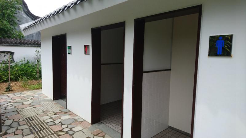 トイレも男女別・車椅子ユーザー専用の3か所。