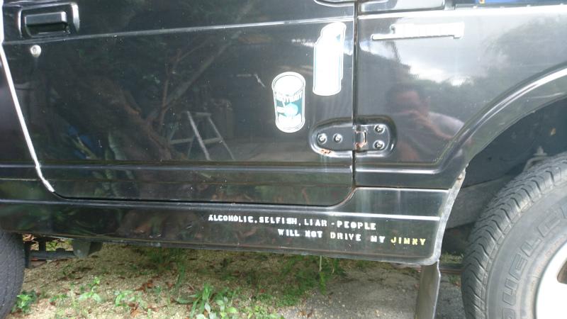 未だに意味わかんないけど多分、『俺はアルコールとミルクティーが好きなんだ』という意味付けでスプレー吹いたかな(笑)