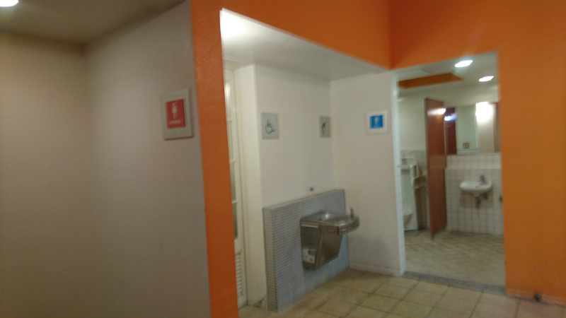 中心地・アクティブパークには車いすトイレ完備。