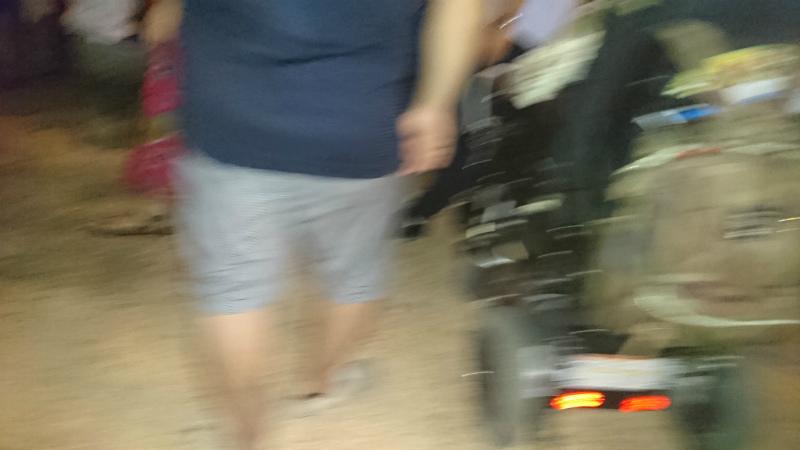車椅子ユーザーも何組か見かけましたよ。