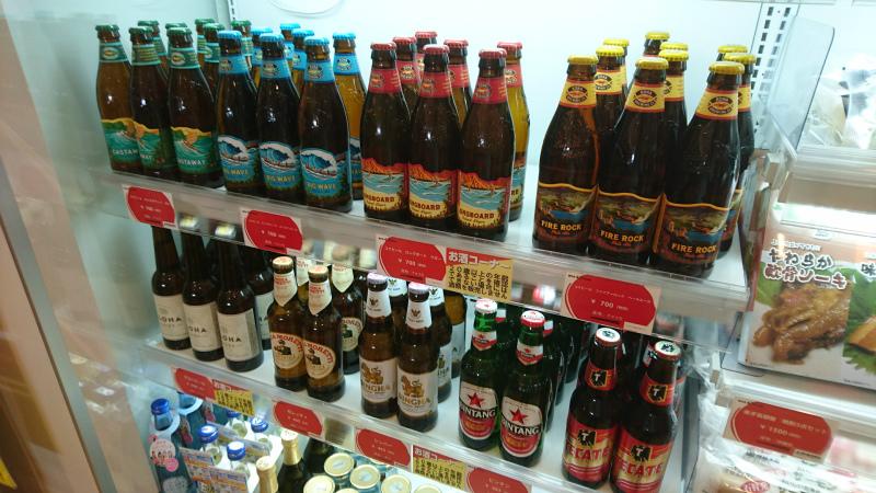 地ビール関係が充実している。