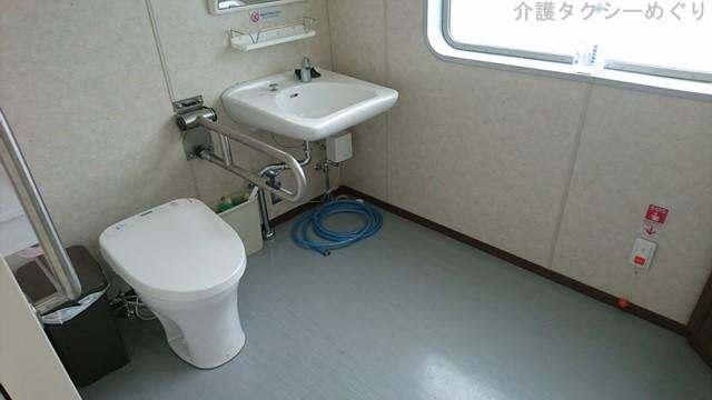トイレの広さも、素晴らしい(オストメイト設備ナシ)