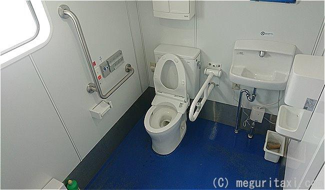 フェリーくだかⅢ多目的トイレ