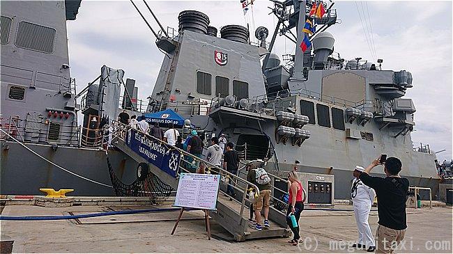 アメリカ海軍艦