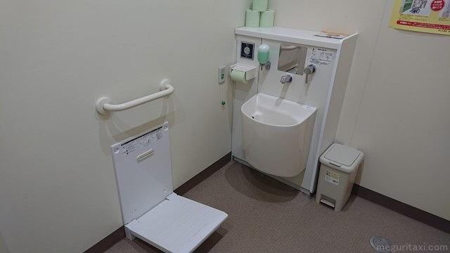 道の駅いとまん情報館 オストメイト対応トイレ