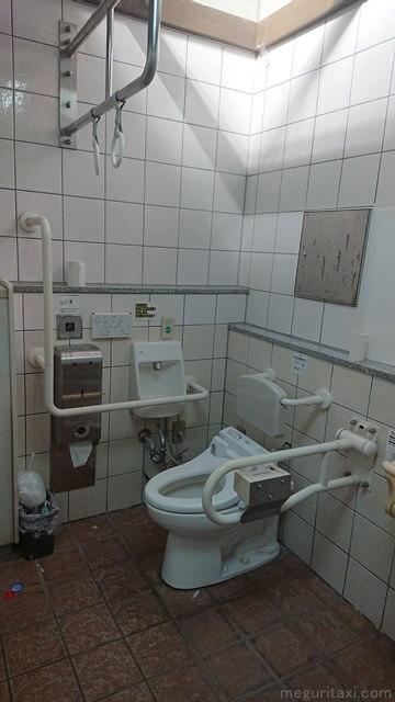 道の駅許田 車いすトイレ