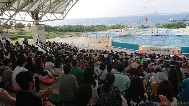海洋博公園内の沖ちゃん劇場
