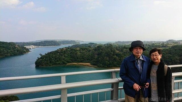 ワルミ大橋で沖縄観光