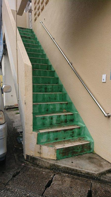 手すり付き階段が昇れなくなった怖くなった