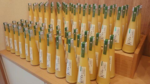 大宜味村シークァーサーパークの9月限定果実原液ジュース